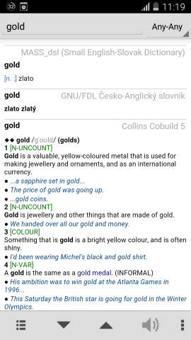 GoldenDict android